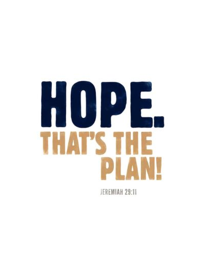hope thats the plan lettering